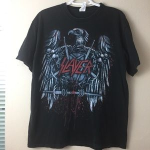 Other - Vintage Slayer Shirt Large